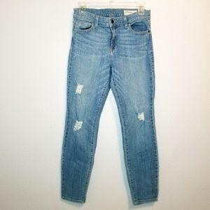 pistola distressed skinny jeans size 29